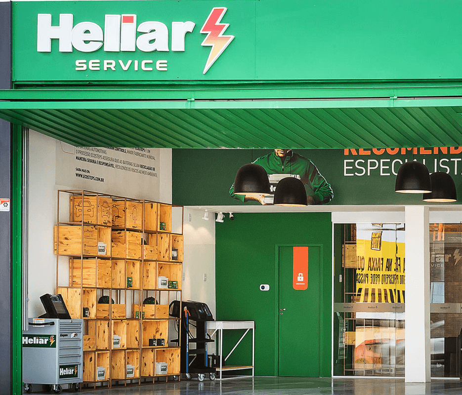 Heliar Service Store Front